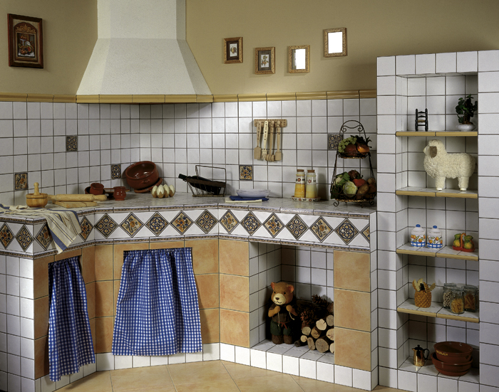 Cocinas Mexicanas Azulejos Azulejo Talavera Modelo Arabesque - Azulejo-para-cocina-rustica